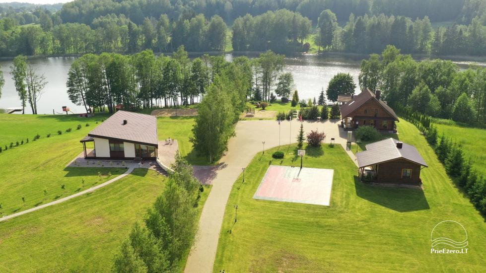 Countryside villa at the lake:kayaks, sauna, tennis court - 2