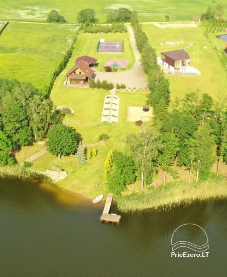 Countryside villa at the lake:kayaks, sauna, tennis court - 3