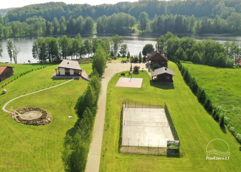 Countryside villa at the lake:kayaks, sauna, tennis court - 4