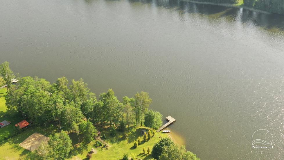 Countryside villa at the lake:kayaks, sauna, tennis court - 7