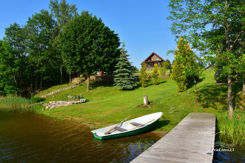 Countryside villa at the lake:kayaks, sauna, tennis court - 15