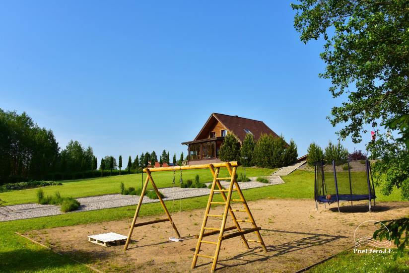 Countryside villa at the lake:kayaks, sauna, tennis court - 24