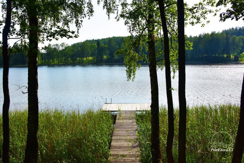 Countryside villa at the lake:kayaks, sauna, tennis court - 16