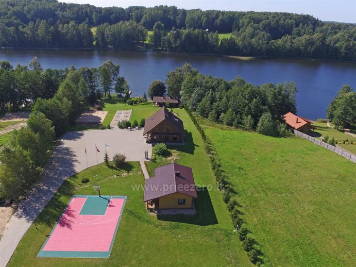 Countryside homestead near Ilgis lake:kayaks, sauna, tennis court, boats - 1