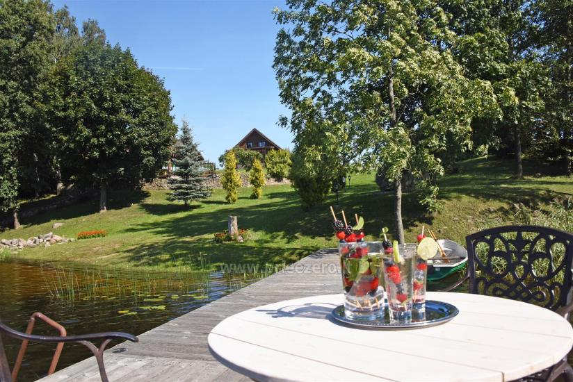 Countryside villa at the lake:kayaks, sauna, tennis court - 1