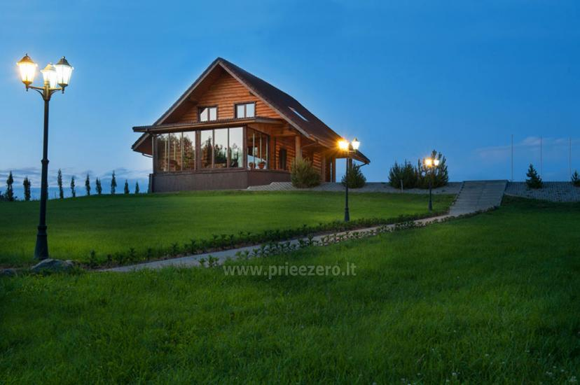 "Villa ""Vakaris"" with 30-seat banquet hall and bedrooms for up to 16 persons"