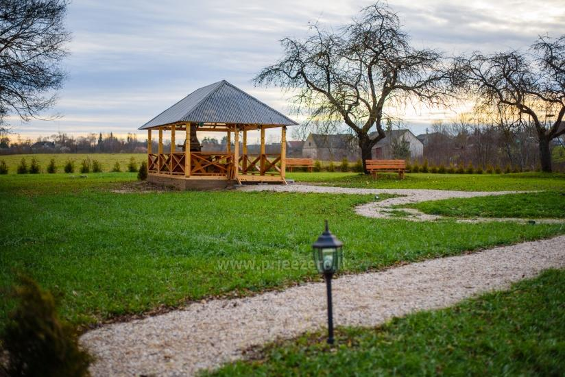 Ilgiu countryside homestead with 30-seat hall, bathhouse - 13