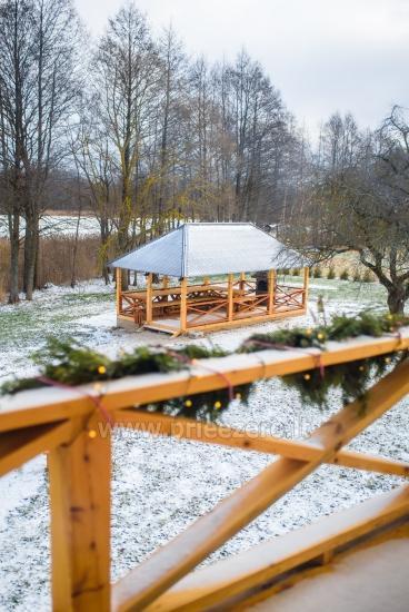 Ilgiu countryside homestead with 30-seat hall, bathhouse - 64