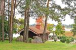 Holiday cottage for two with sauna on the shore of the lake, homestead Pas Drambliuką - 2