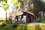 Holiday cottage for two with sauna on the shore of the lake, homestead Pas Drambliuką - 11