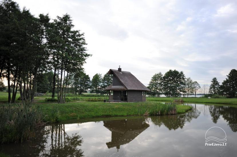 Homestead for feasts on the lake shore in Alytus district Atesys - 29