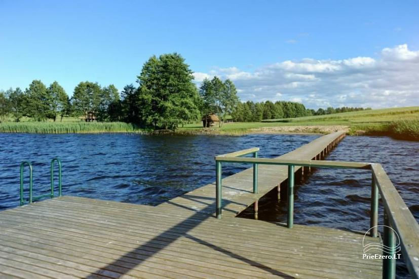 Countryside homestead for feasts and vacation on the lake shore in Alytus district Atesys - 7