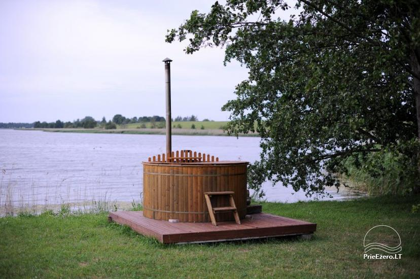 Homestead for feasts on the lake shore in Alytus district Atesys - 24