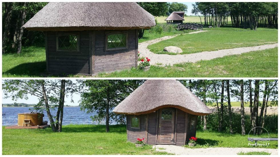 Homestead for feasts on the lake shore in Alytus district Atesys - 28