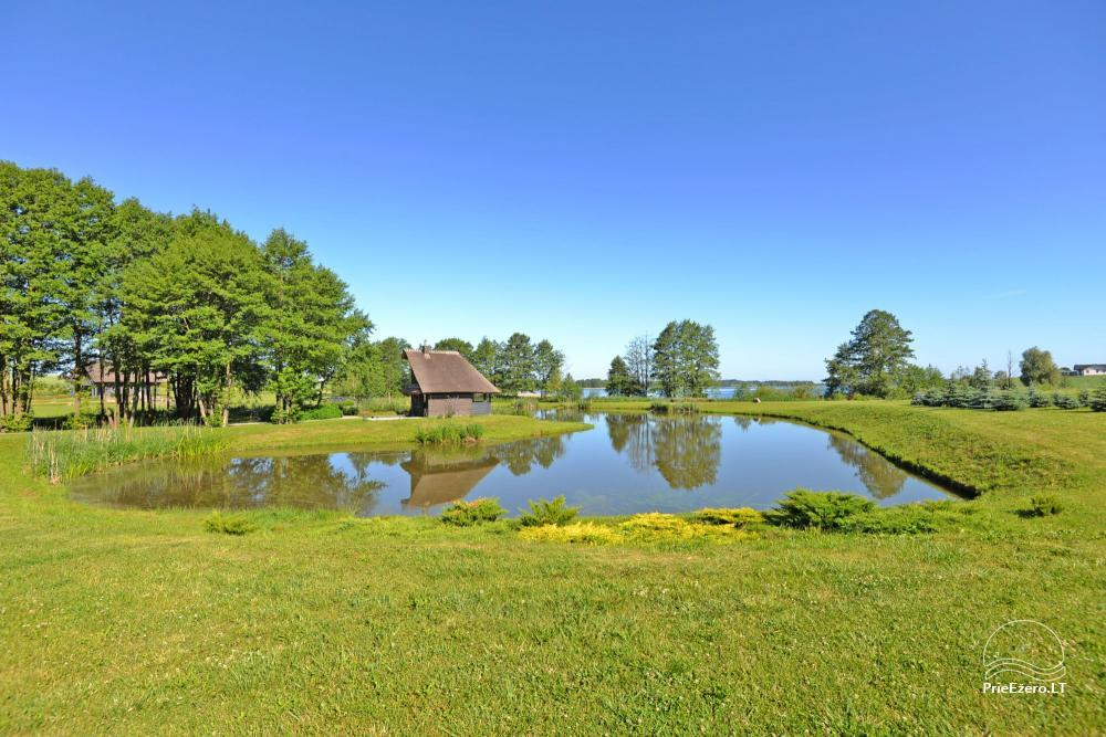 Homestead for feasts on the lake shore in Alytus district Atesys - 43