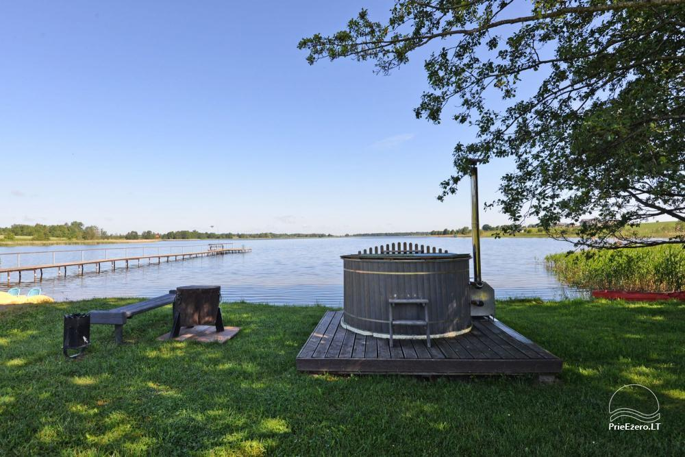 Homestead for feasts on the lake shore in Alytus district Atesys - 57