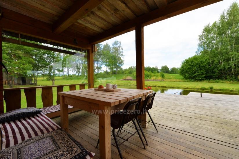 Countryside homestead Beržų giraitė in Ignalina district - 10