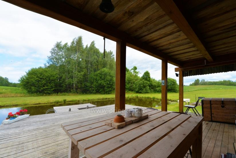 Countryside homestead Beržų giraitė in Ignalina district - 11