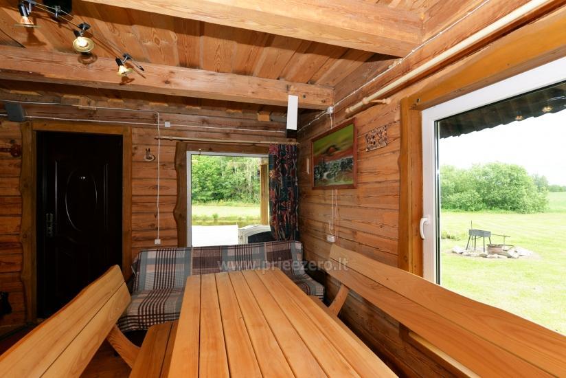 Countryside homestead Beržų giraitė in Ignalina district - 14