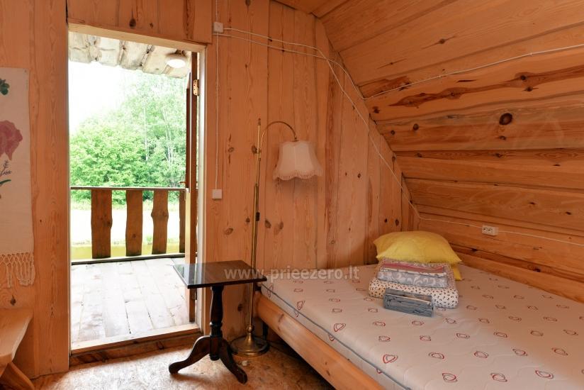 Countryside homestead Beržų giraitė in Ignalina district - 18