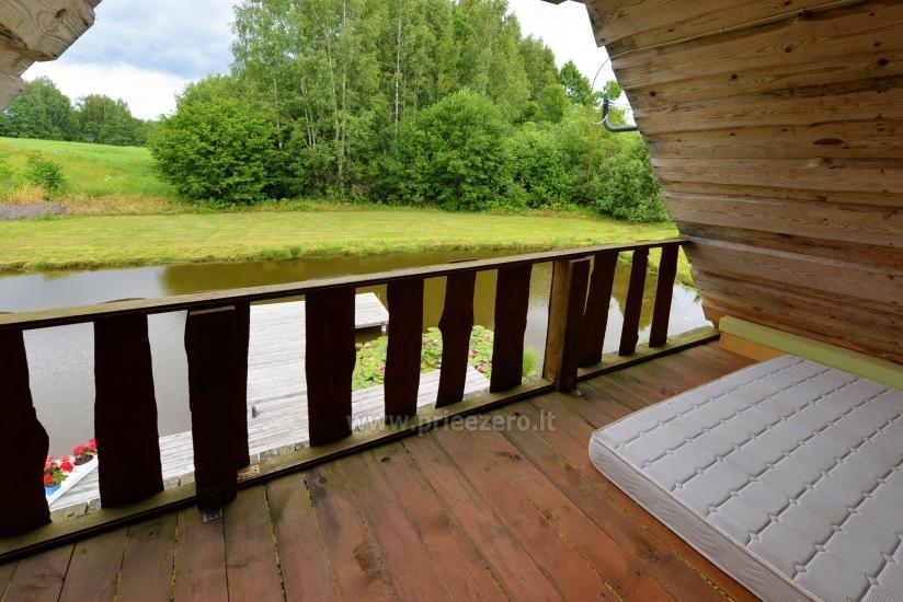 Countryside homestead Beržų giraitė in Ignalina district - 22