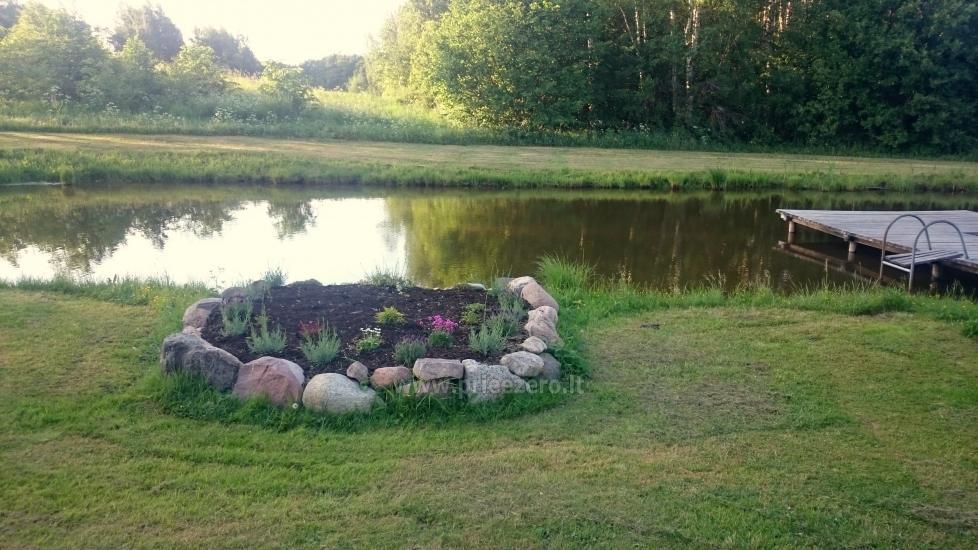 Countryside homestead Beržų giraitė in Ignalina district - 25