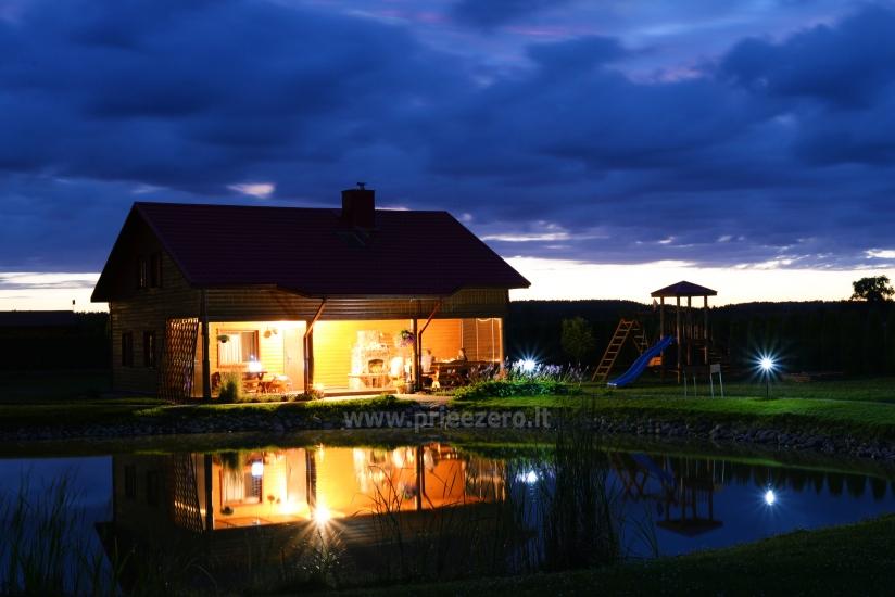 Urlaub in Druskininkai. Haus-Villa mit Sauna SODYBA RŪKE - 18
