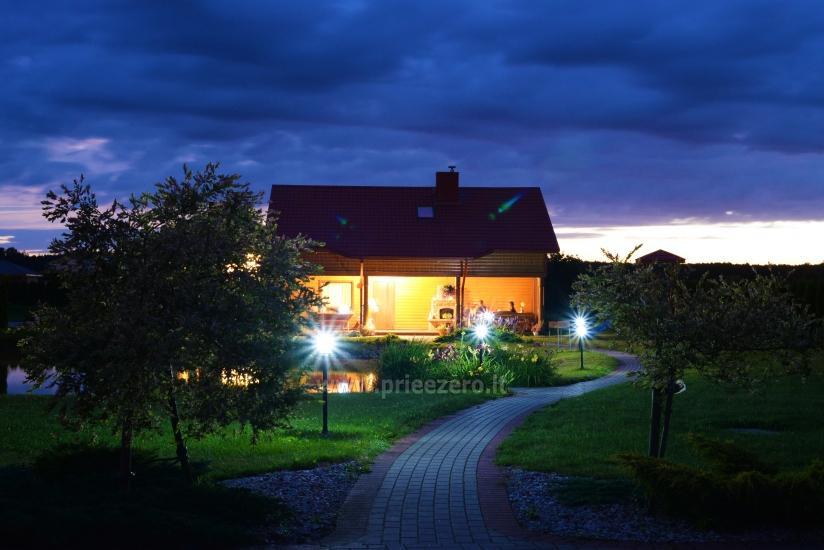 Urlaub in Druskininkai. Haus-Villa mit Sauna SODYBA RŪKE - 19