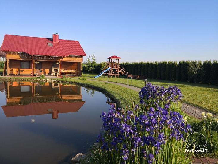 Urlaub in Druskininkai. Haus-Villa mit Sauna SODYBA RŪKE - 6
