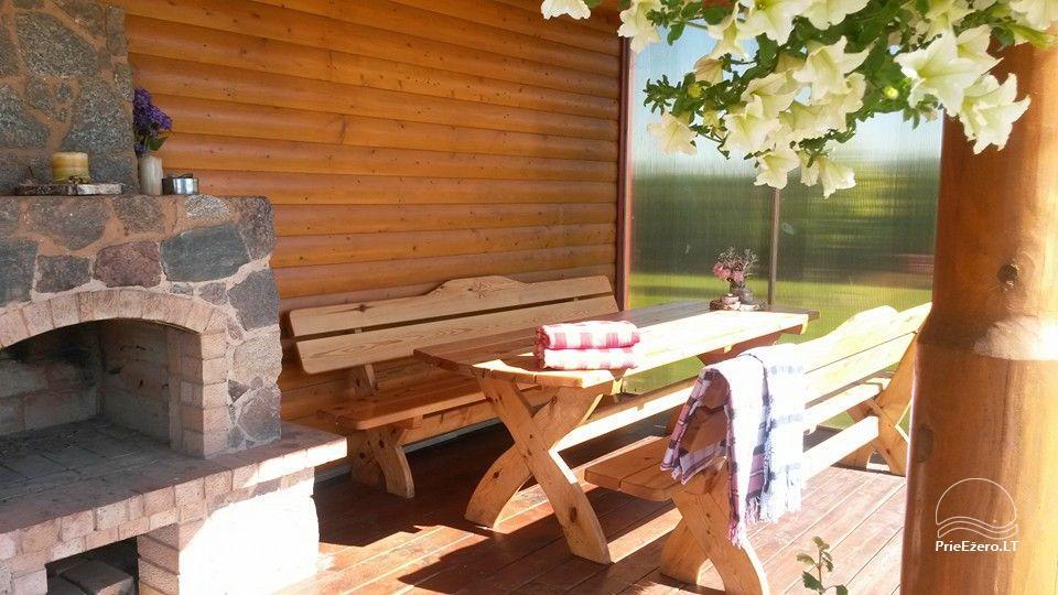 Urlaub in Druskininkai. Haus-Villa mit Sauna SODYBA RŪKE - 13