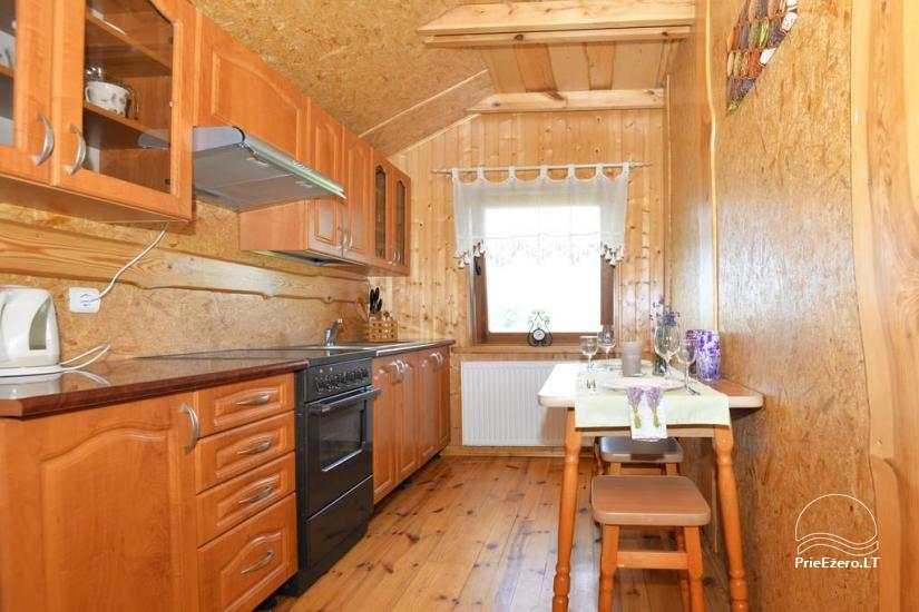 Urlaub in Druskininkai. Haus-Villa mit Sauna SODYBA RŪKE - 23
