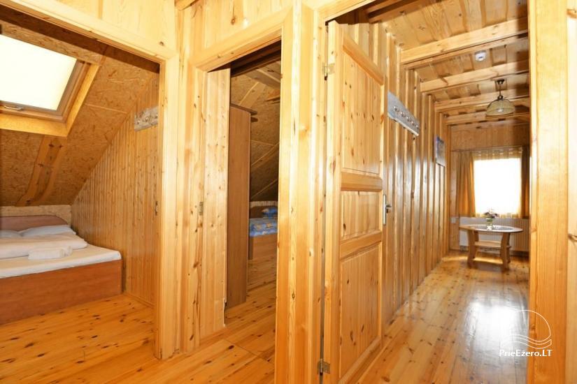 Urlaub in Druskininkai. Haus-Villa mit Sauna SODYBA RŪKE - 20