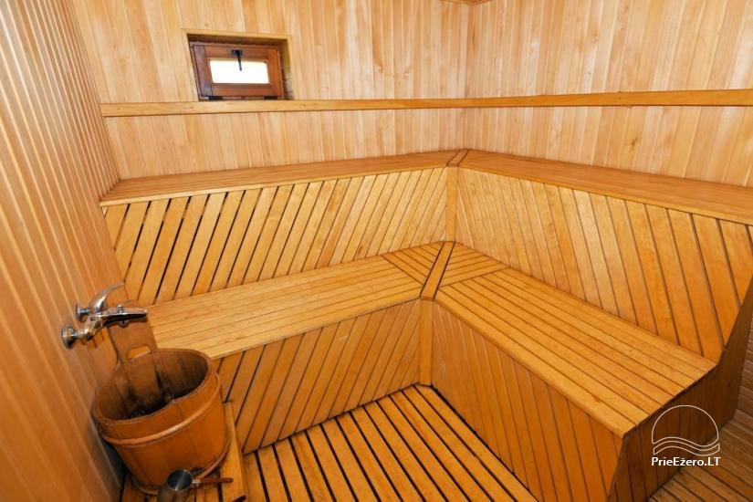 Urlaub in Druskininkai. Haus-Villa mit Sauna SODYBA RŪKE - 26