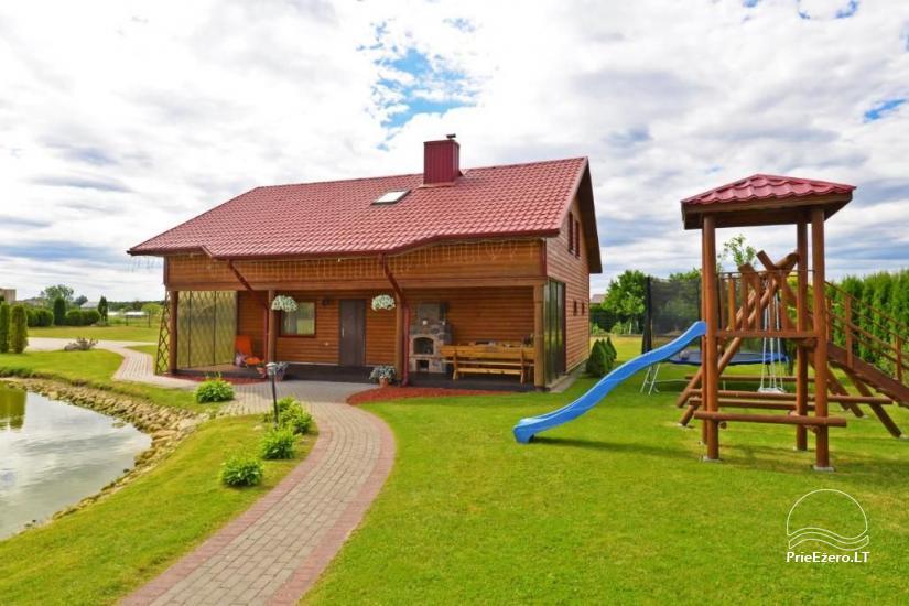 Urlaub in Druskininkai. Haus-Villa mit Sauna SODYBA RŪKE - 5