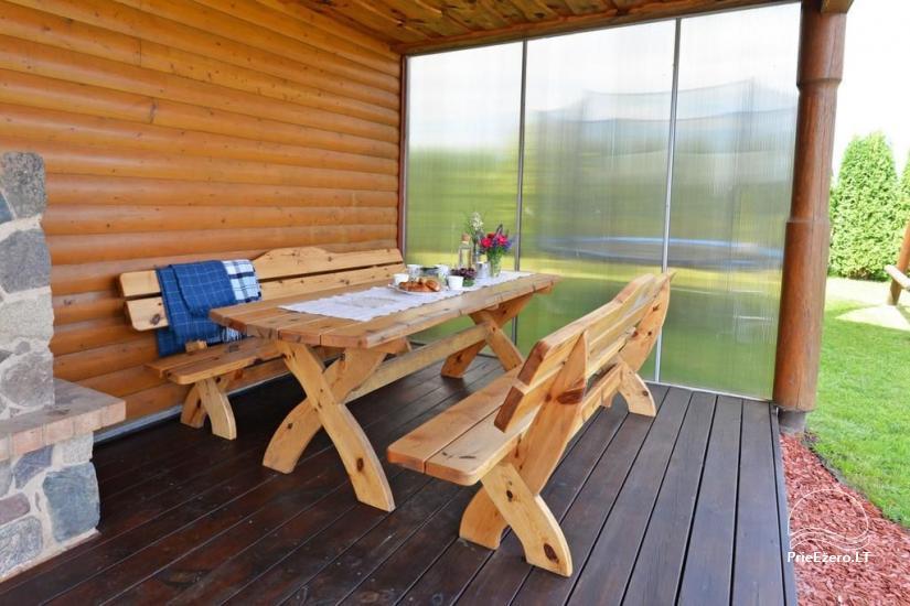 Urlaub in Druskininkai. Haus-Villa mit Sauna SODYBA RŪKE - 12
