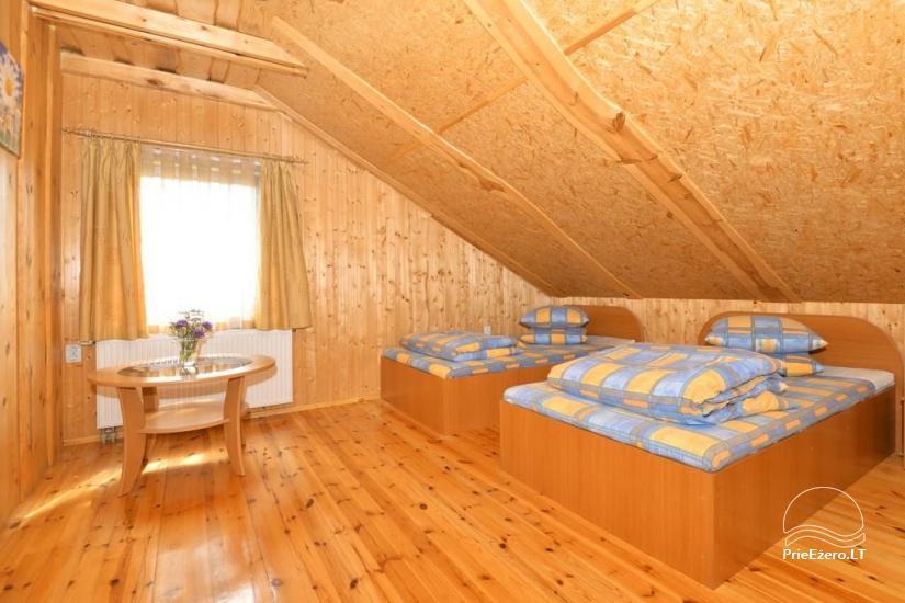 Urlaub in Druskininkai. Haus-Villa mit Sauna SODYBA RŪKE - 21