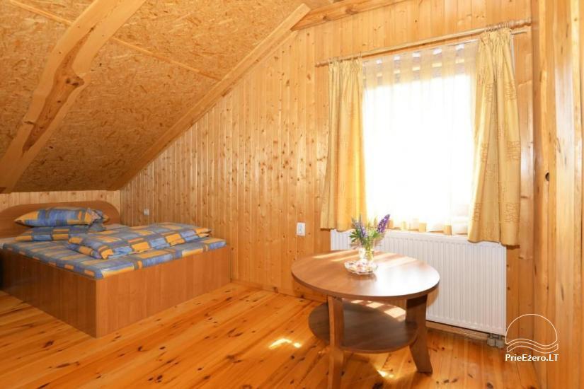 Urlaub in Druskininkai. Haus-Villa mit Sauna SODYBA RŪKE - 22