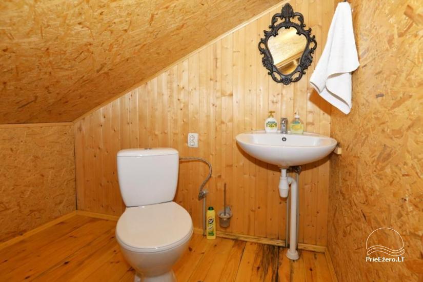 Urlaub in Druskininkai. Haus-Villa mit Sauna SODYBA RŪKE - 31