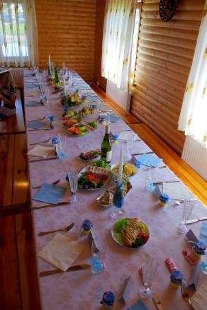 Urlaub in Druskininkai. Haus-Villa mit Sauna SODYBA RŪKE - 36