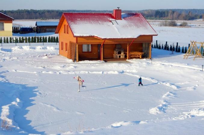 Urlaub in Druskininkai. Haus-Villa mit Sauna SODYBA RŪKE - 33