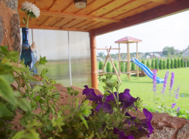 Holiday in Druskininkai. Villa, rooms for rent - house with sauna Sodyba rūke - 11