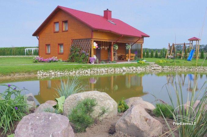 Urlaub in Druskininkai. Haus-Villa mit Sauna SODYBA RŪKE - 1
