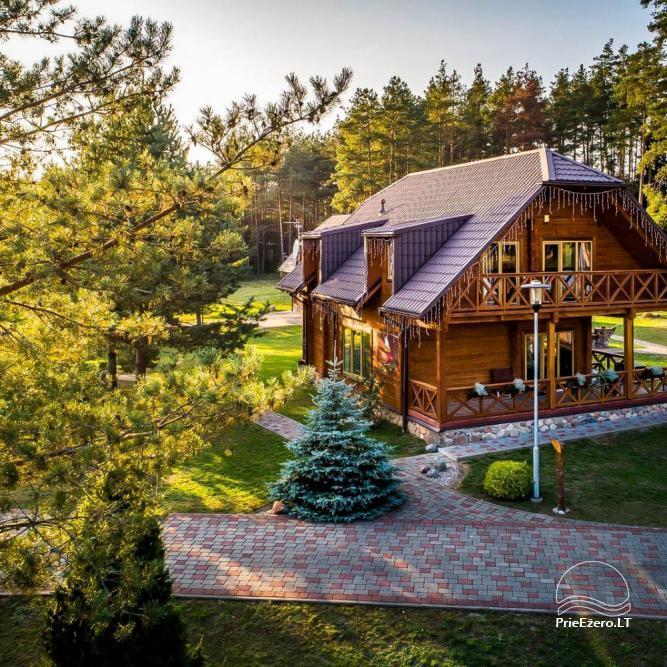 Recreation center - hotel in Druskininkai area Nojaus Laivas - 33
