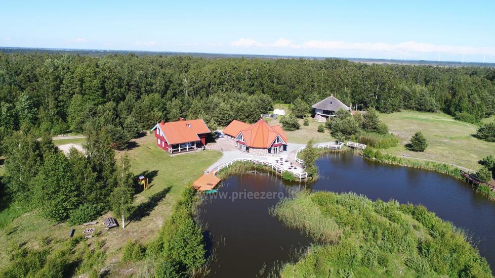 Gehöft - Gästehaus PAMARIO BURĖ in der Nähe der Kurischen Lagune mit Restaurant, Sauna - 1
