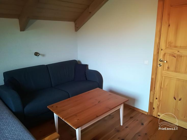 Pensjonat PAMARIO BURĖ w pobliżu Zalewu Kurońskiego z restauracją, sauną - 37