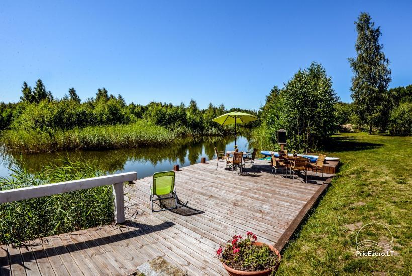 Homstead - guest house PAMARIO BURĖ near Curonian lagoon with a restaurant, sauna - 12