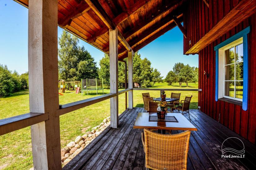 Homstead - guest house PAMARIO BURĖ near Curonian lagoon with a restaurant, sauna - 15