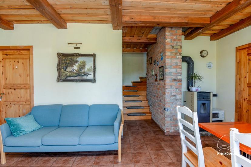 Homstead - guest house PAMARIO BURĖ near Curonian lagoon with a restaurant, sauna - 17