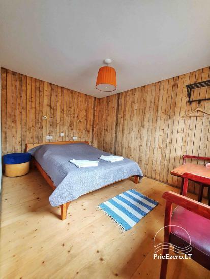 Homstead - guest house PAMARIO BURĖ near Curonian lagoon with a restaurant, sauna - 41