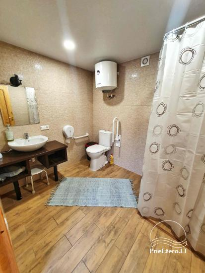 Homstead - guest house PAMARIO BURĖ near Curonian lagoon with a restaurant, sauna - 43